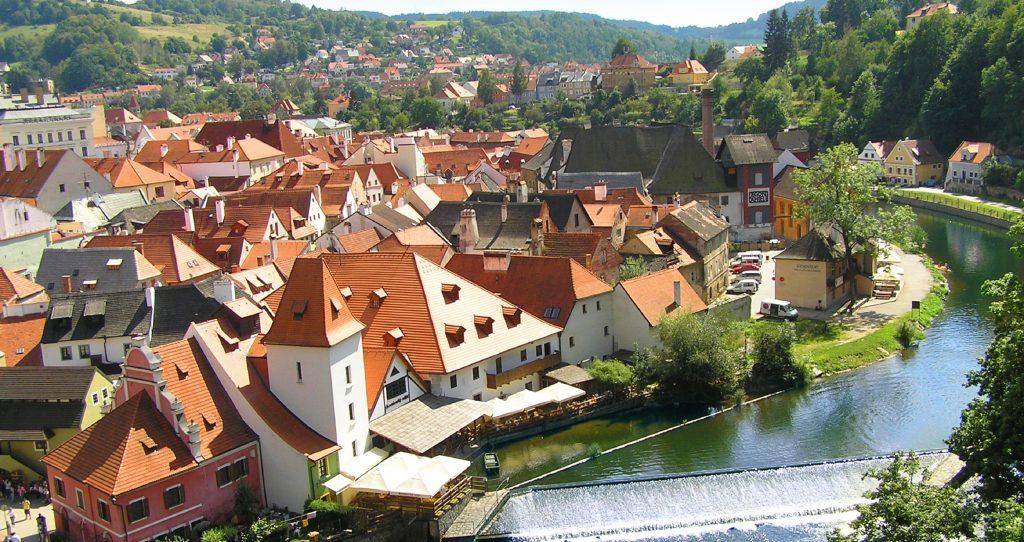 Замок Глубока и Чешский Крумлов