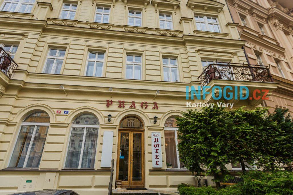 Отель Praga 3* в Карловых Варах