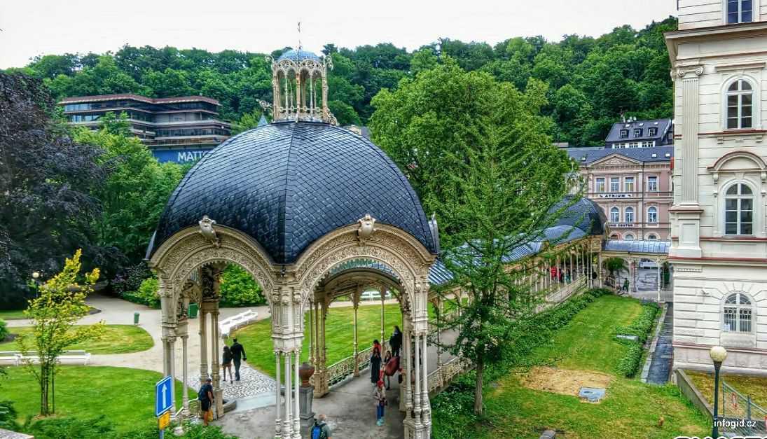 Садовая колоннада Карловы Вары