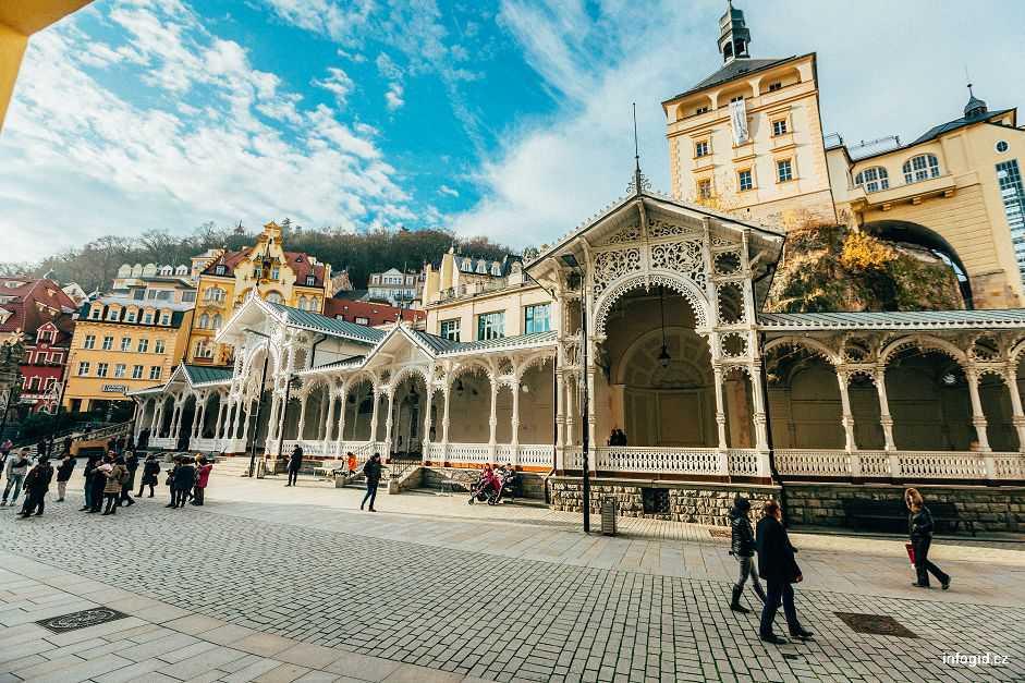 Рыночная колоннада Карловы Вары