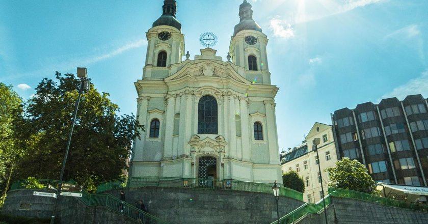 Костел святой Марии Магдалены в Карловых Варах