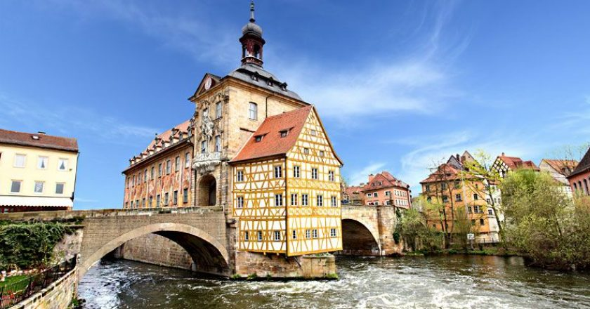 Бамберг - старинный город в Баварии