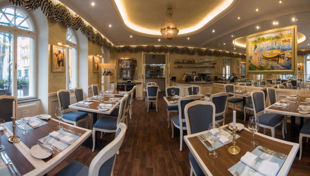 LE MARCHÉ – гастрономический ресторан в Карловых Варах