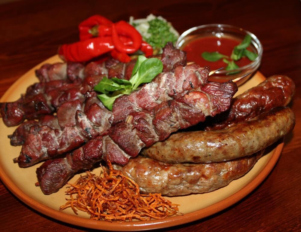 Ресторан «Старославянская кухня» в центре Карловых Вар