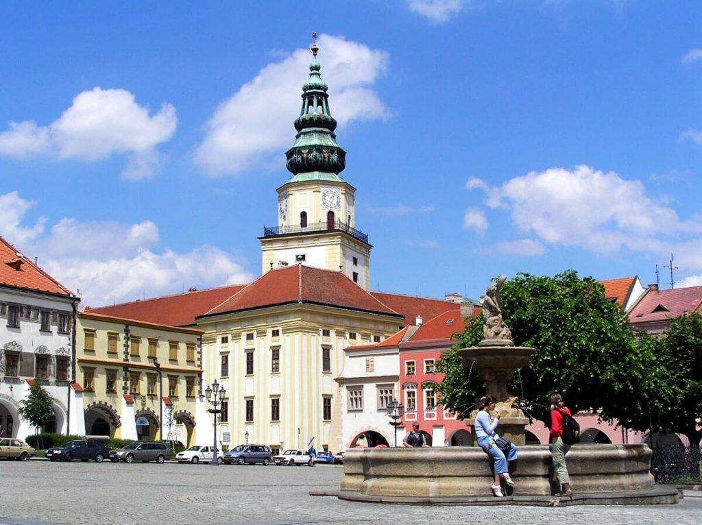 Чешский город Кромержиж