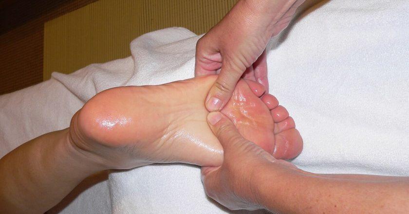 Ароматерапевтический и рефлекторный массаж стопы в Карловых Варах