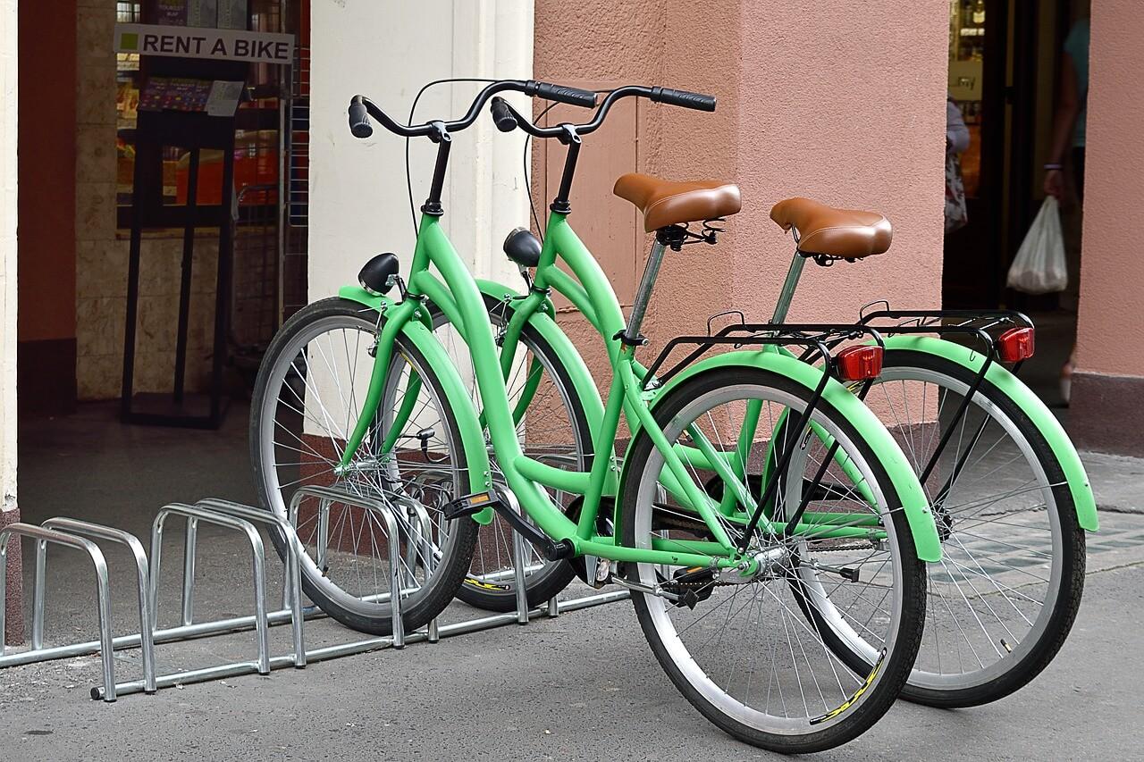 Прокат велосипедов, Чехия