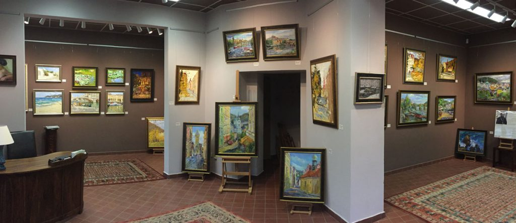 Новая галерея современной классической живописи в Карловых Варах