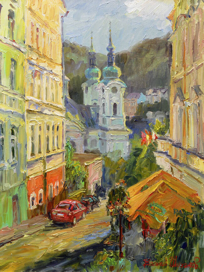 В. Шиханов «Улица Колма»