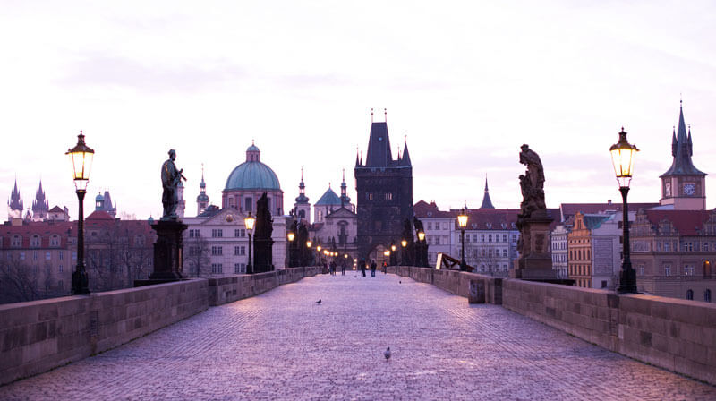 Roman Boed, Prague Sunrise, (CC BY 2.0)