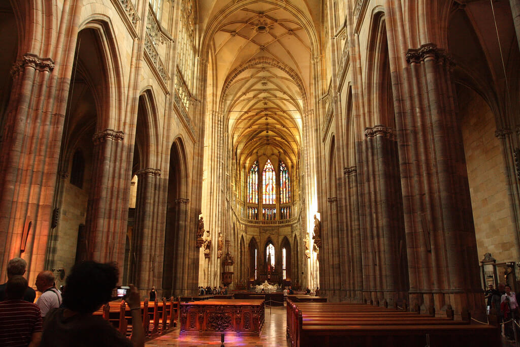 """Фото <a href=""""https://www.flickr.com/photos/matthewblack/2571316030/"""">Matthew Black   St Vitus Cathedral Prague</a>, <a href=""""https://creativecommons.org/licenses/by/2.0/"""">(CC BY 2.0)</a>"""