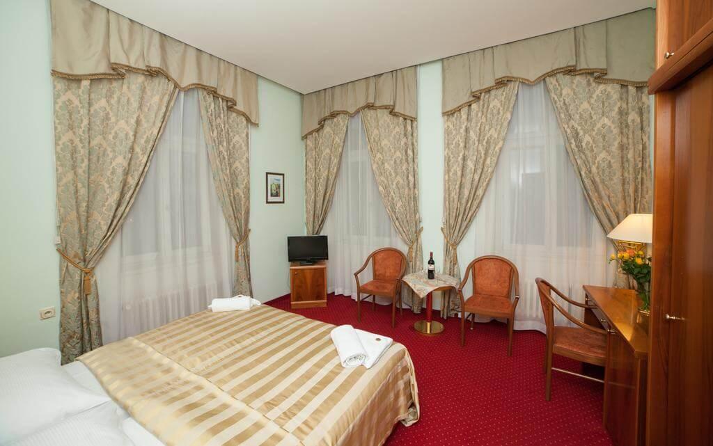 Отель Санатори Сириус 4* в Карловых Варах