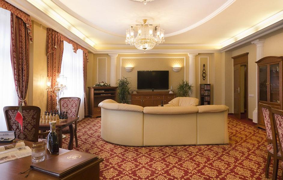 Санаторий Spa Hotel Ulrika Карловы Вары