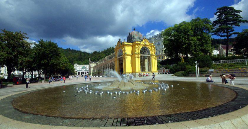 Марианские Лазне это курорт в Чехии