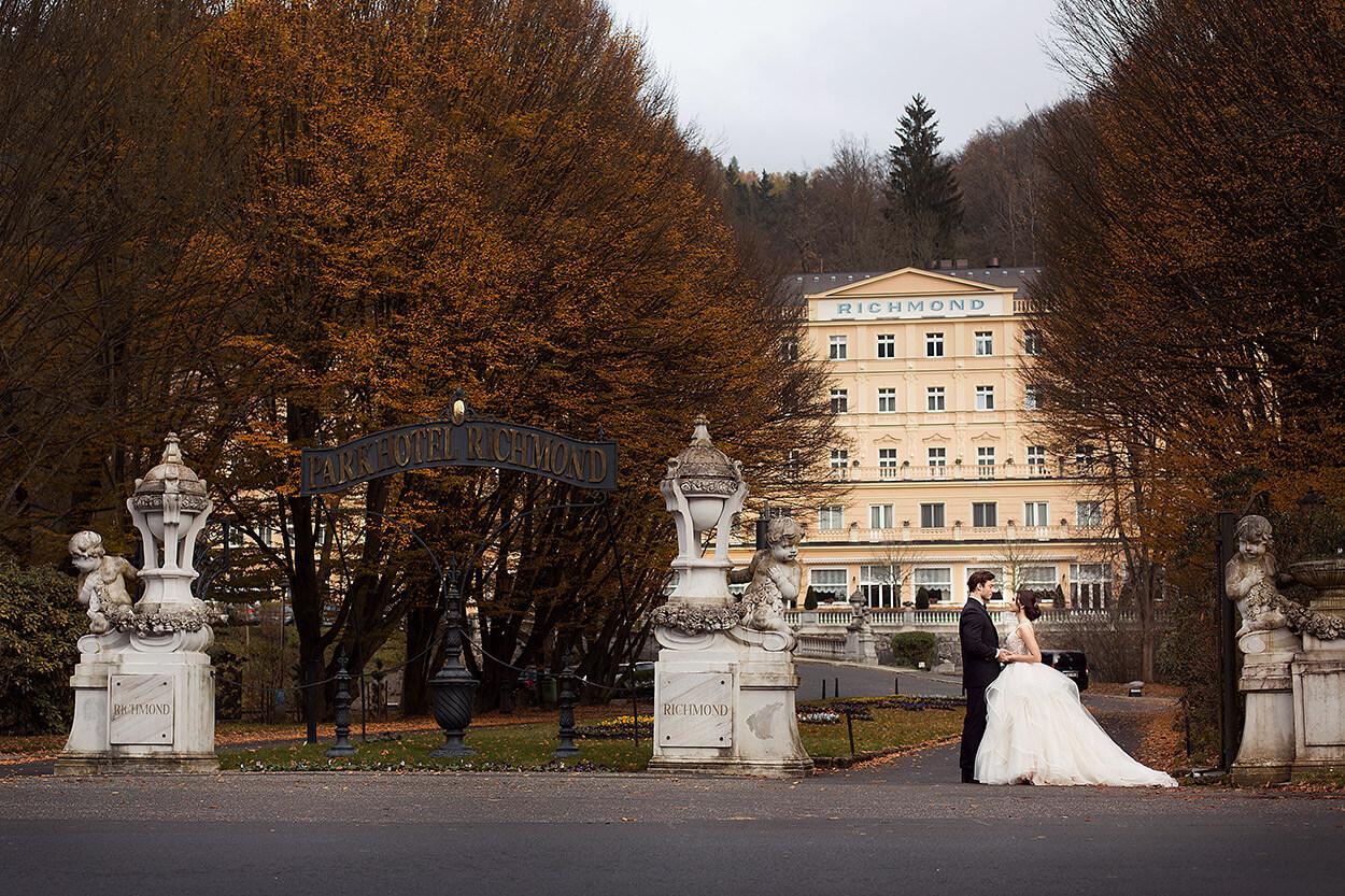 Свадьба в Карловых Варах, рекомендации по выбору фотографа