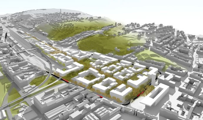 Праге начнется строительство нового района