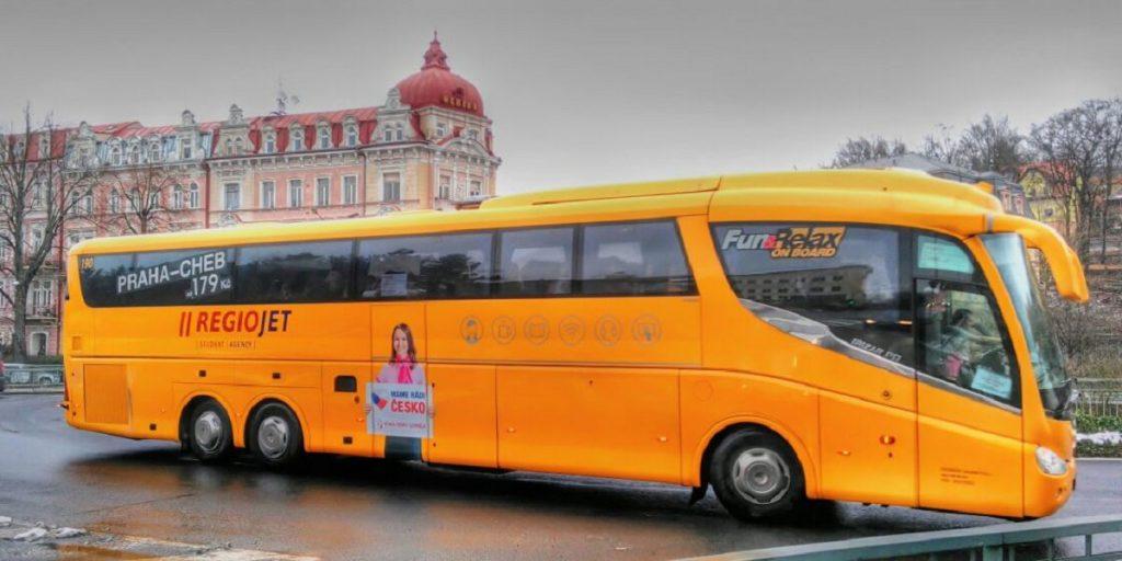 Автобус Прага Карловы Вары