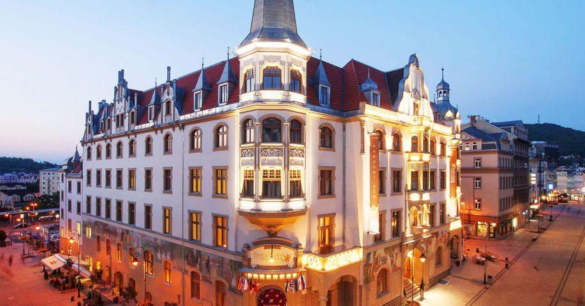 Grandhotel Ambassador Narodni Dum 4* в Карловых Варах