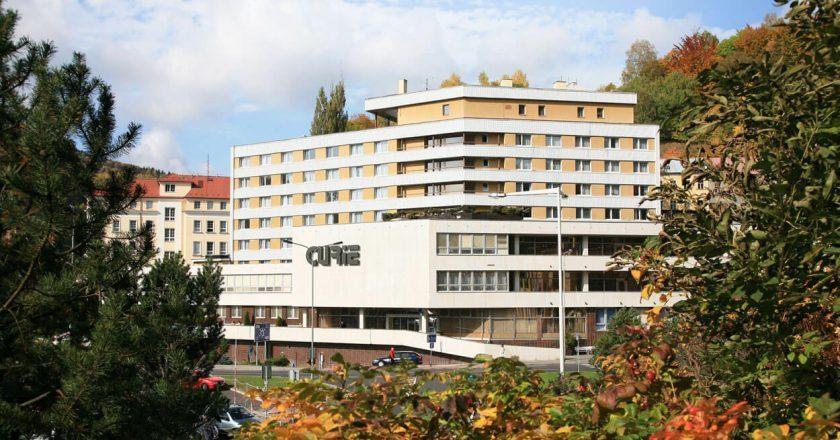Spa Complex Curie 3* в Яхимов