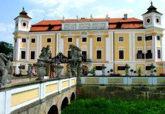 Окрестности Брно. Замок Милотице.