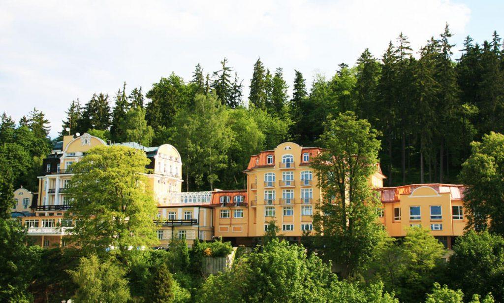 Спа отель Royal 4* в Марианских Лазнях.