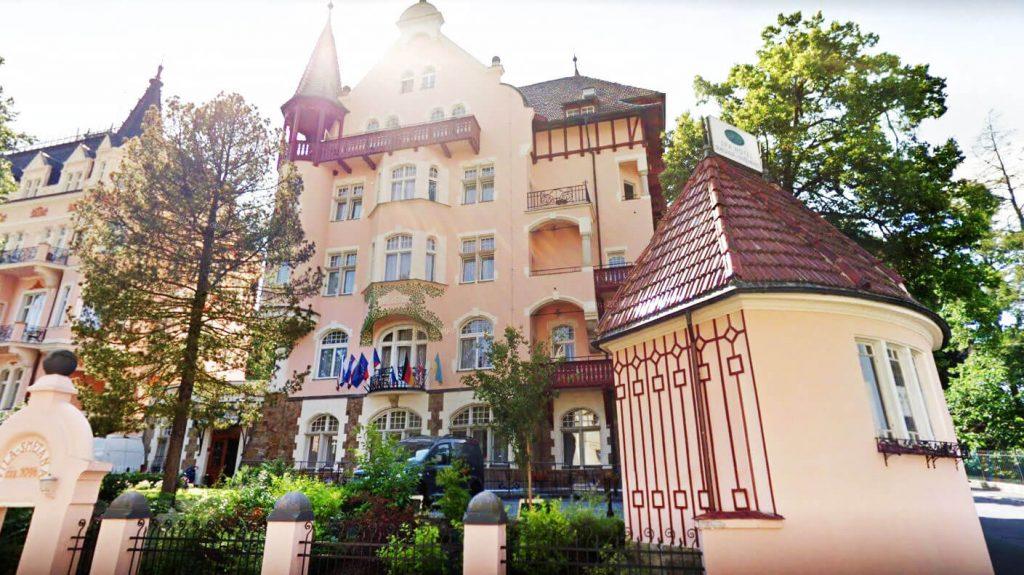 Спа отель Сметана Вышеград в Карловых Варах