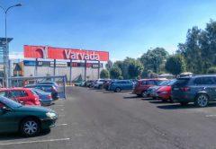 Торговый центр Varyada в Карловых Варах